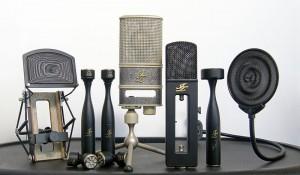 So schöne Mikrofone